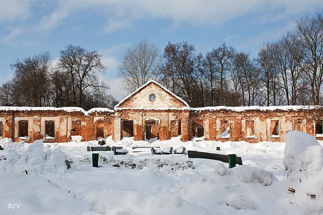Дворцово-парковый ансамбль XVIII века в д. Сёмково планируют возродить