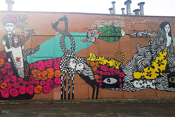 Стрит-арт в Минске